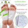 100 patchs détox pour les pieds cure de 1 mois plus 11 mois d'entretiens