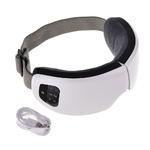 Masseur oculaire sans fil rechargeable avec chauffage et musiques 6