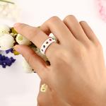 7-Chakra-Color-bagues-pour-femmes-Bling-Color-Cristal-Noir-Blanc-bagues-en-c-ramique-Visible