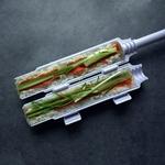Sushi-fabricant-rouleau-rouleau-moule-Sushi-rouleau-Bazooka-riz-viande-l-gumes-bricolage-Sushi-faisant-la