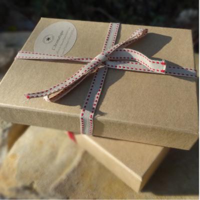 """Coffret cadeau savons """"l'Aromatique"""""""