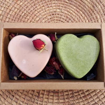 Duo de savons Saint Valentin