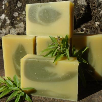 Savon Verveine Citronnée & Argile Verte
