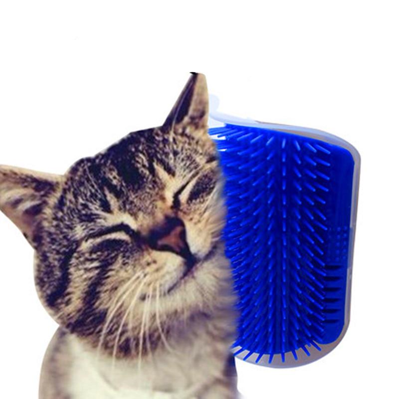 Pet-Chat-Auto-Toiletteur-Pour-Chat-outil-de-tonte-pilation-Peigne-Chiens-brosse-chat-Perte-De
