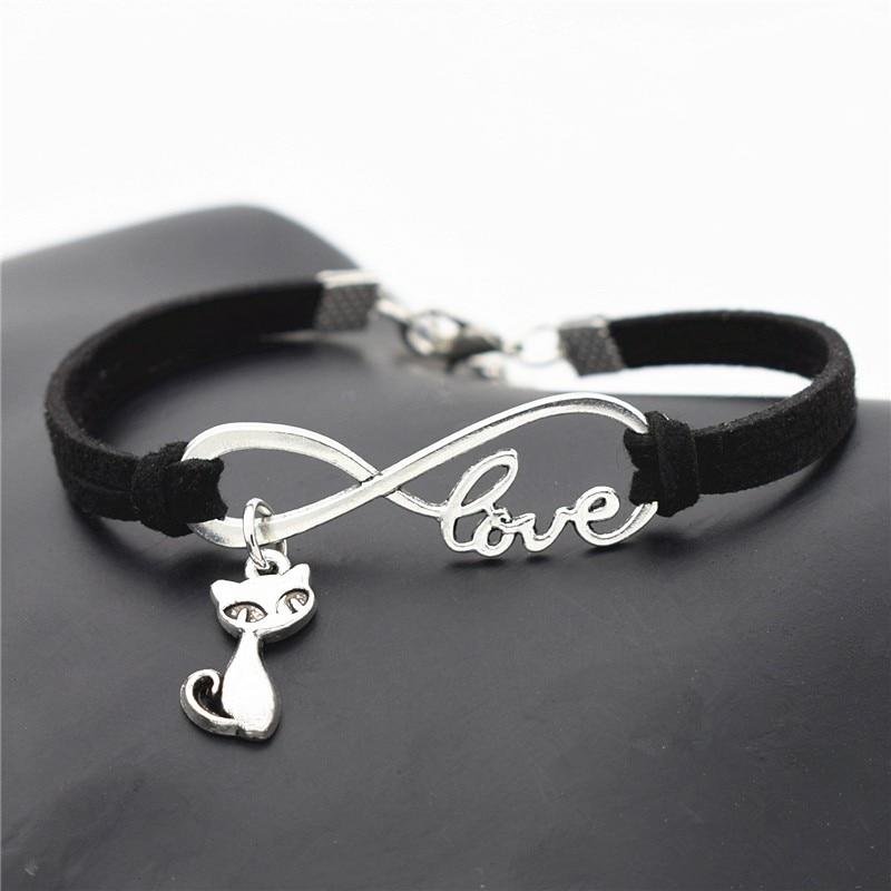 Bracelet petit Chat d\'amour infini