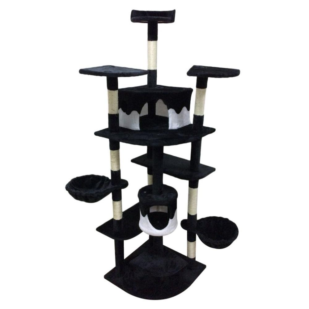 201-CM-chat-jouet-maison-lit-suspendu-jouer-arbre-chaton-meubles-Scratchers-bois-massif-pour-chats