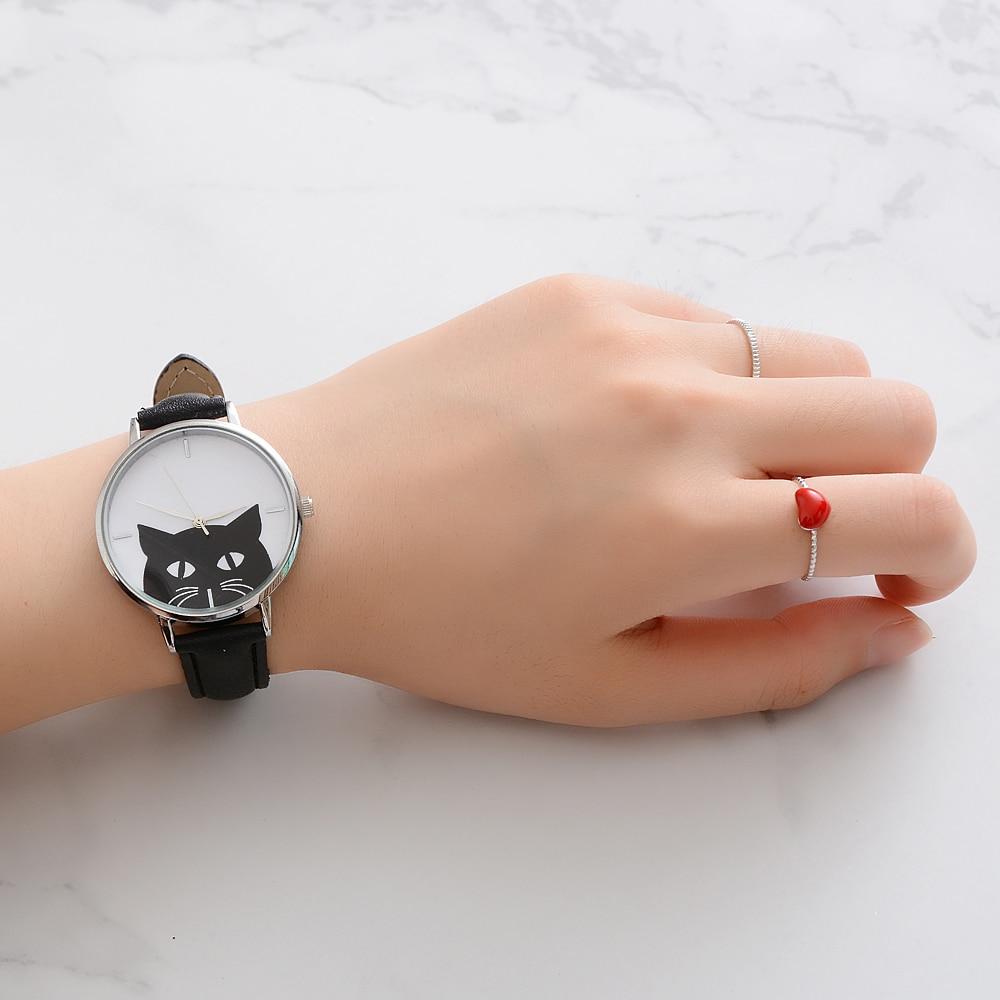 Montre chat noir (3)