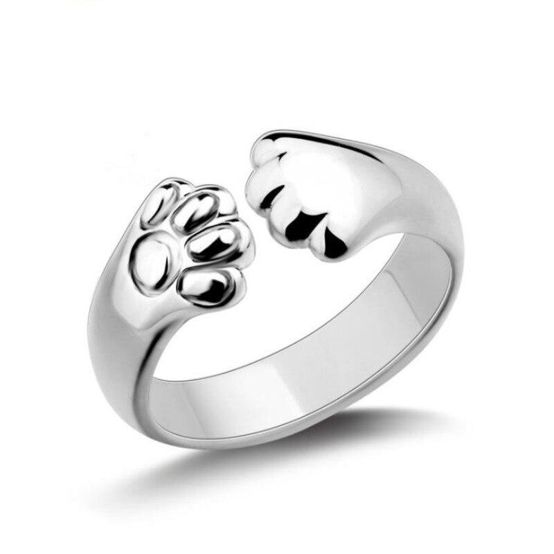 Bague-d-ouverture-exquise-avec-Animal-mignon-bijoux-en-argent-Sterling-925-mode-personnalit-griffe-de