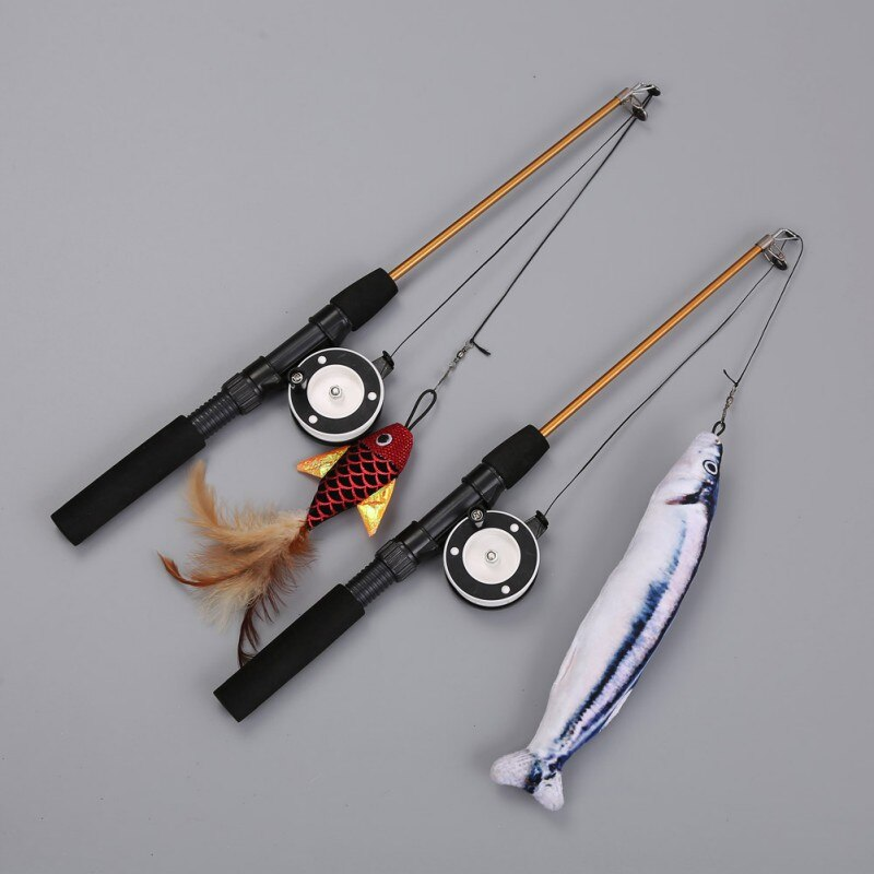 Canne à pêche à Chat