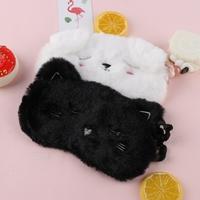 Masque de sommeil Chat peluche