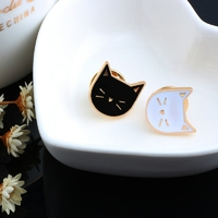 2-pcs-ensemble-Chaude-de-Bande-Dessin-e-Mignon-Chat-Animal-mail-Broche-Broches-Insigne-D