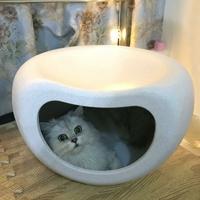 Tabouret et maison Chat design