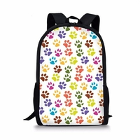 FORUDESIGNS-dr-le-multicolore-patte-de-chat-empreinte-sacs-d-cole-pour-gar-on-fille-mignon