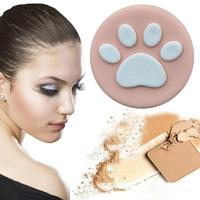 Houpette à maquillage pattoune de Chat