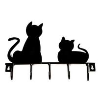 Accroche-tout design Chat noir
