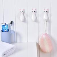 2-pcs-chat-de-Bande-Dessin-e-conception-b-ton-crochets-pour-accrocher-Sac-Main-serviette