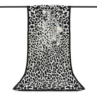 Drap de bain ou de plage Chat léopard