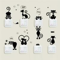 Stickers en planche de Chats farceurs