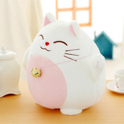 1-pc-18-cm-Kawaii-Chat-En-Peluche-Jouets-En-Peluche-Chat-Chanceux-Panda-Avec-Bambou