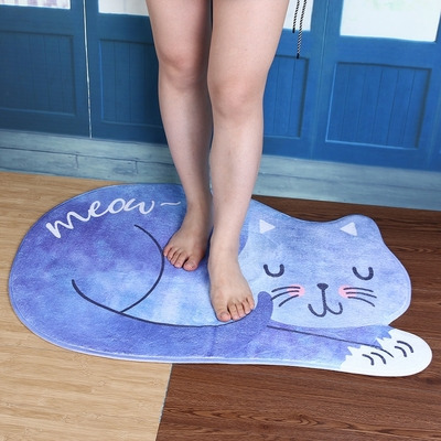 Tapis de sol Chat absorbant anti-dérapant