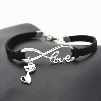 Bracelet petit Chat d'amour infini