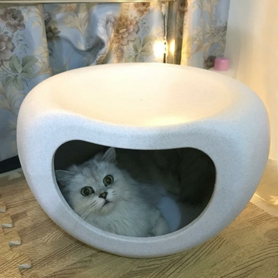 Tabouret et maison Chat design