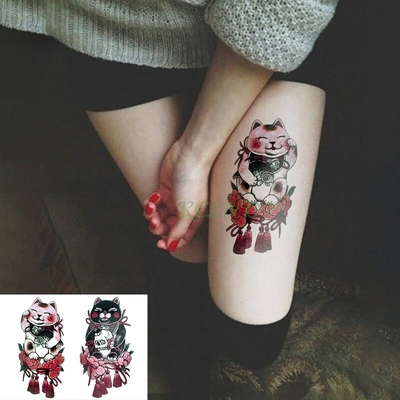 Tatouage temporaire Chat nippon