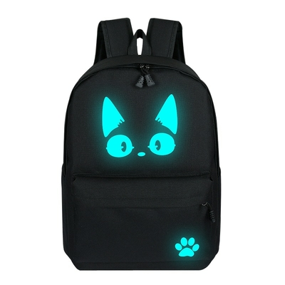 Sac à dos Chat fluo