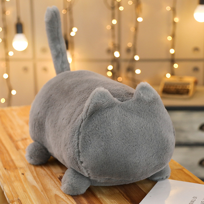 40-55-cm-Kawaii-sans-visage-chat-doux-en-peluche-chat-jouets-en-peluche-Animal-chat