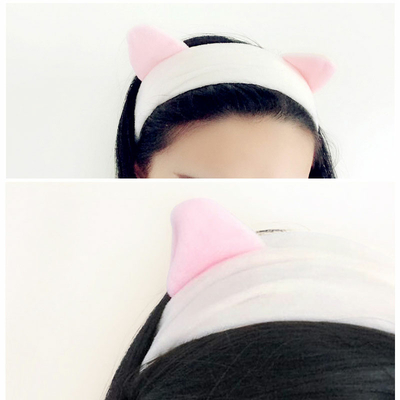 Head band Chat velours