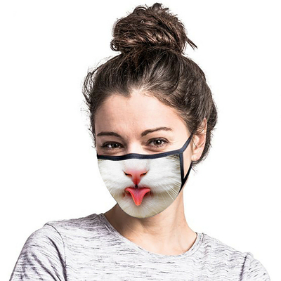 Masque museau de chat