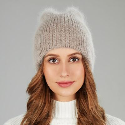 Bonnet angora oreilles de Chat