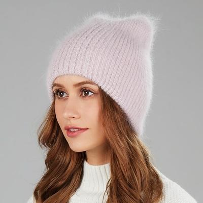 Bonnet angora oreilles de Chat (3)