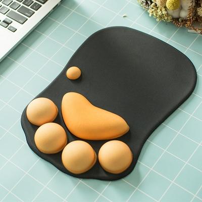 Tapis-de-souris-3D-avec-griffes-de-chat-en-Silicone-doux-Kawaii-avec-accoudoirs-en-mousse