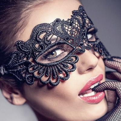 Masque oeil de Chat dentelle