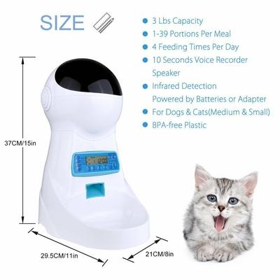 3L-Automatique-Pet-distributeur-de-nourriture-Avec-Enregistrement-Vocal-Animaux-bol-alimentaire-Pour-Moyen-Petit-Chien