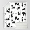 BeddingOutlet-Cartoon-enfants-jeter-couverture-Animal-couvre-lit-brun-mignon-chats-imprimer-Sherpa-peluche-lit-couverture