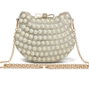 Sac clutch Chat perles et strass