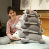 Peluche coussin Chat moelleux