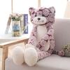 90-cm-chat-en-peluche-jouet-noir-gris-chat-en-peluche-jouets-belle-Anime-chat-poup