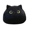 Noir-beau-chat-mignon-en-forme-d-oreillers-en-peluche-doux-dessin-anim-animaux-en-peluche
