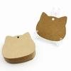 100-pcs-lot-t-te-de-chat-blanc-noir-brun-Kraft-papier-tiquettes-artisanat-blanc-prix