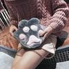 Sac à main pattoune de Chat en peluche