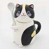 Nouveau-mignon-chat-c-ramique-tasse-caf-avec-cuill-re-cr-ative-peint-la-main-Drinkware