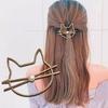 1-pc-Femmes-Filles-M-tal-Simul-perle-Mignon-Chat-L-vres-pingles-Cheveux-Pince-Cheveux