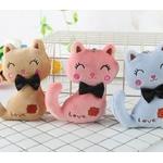 3-couleurs-Peu-Taille-8-CM-NOUVEAU-Chat-En-Peluche-Animal-En-Peluche-Kitty-Chat-porte