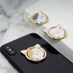 Belle-Chat-Bague-Mobile-T-l-phone-Titulaire-pour-iPhone-XS-Max-X-SE-8-7