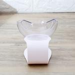 Nouveau-Une-Double-Port-Chien-fontaine-eau-Feeder-Bowl-Ustensiles-Chat-Chaton-fontaine-d-eau-potable