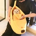 Hiver-lit-pour-animaux-de-compagnie-pour-chats-banane-forme-chaude-douce-maison-en-peluche-pour