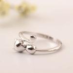 Flyleaf-925-Sterling-argent-bijoux-chat-anneaux-ouverts-pour-les-femmes-de-haute-qualit-mode-Style